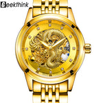 Luxury Dragon Design Automatic Mechanical Watch