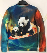 Galaxy Pizza Pandas Sweatshirt
