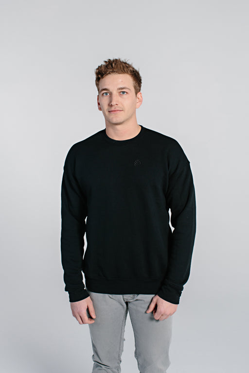 Embroidered Crewneck Sweatshirt - DOJA Cannabis