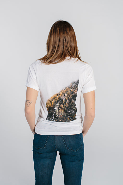 Mountain Tee - White - DOJA Cannabis