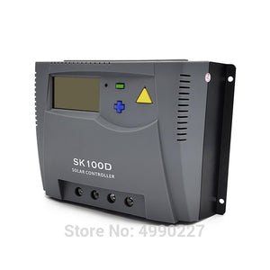 100A 12V 24V 48V Auto solar charge controller Solar PV Battery Charger with LCD Display and communication function