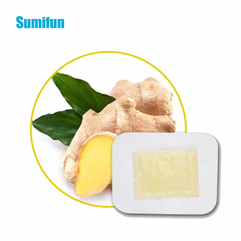 Ginger Herbal Cleansing Medicine Patches Massage