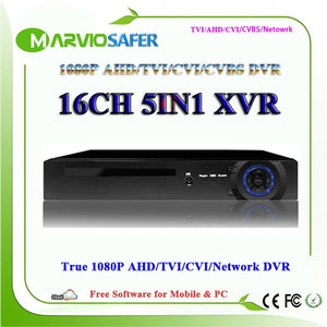 16ch AHD-H CCTV Camera Recorder Video System Recording