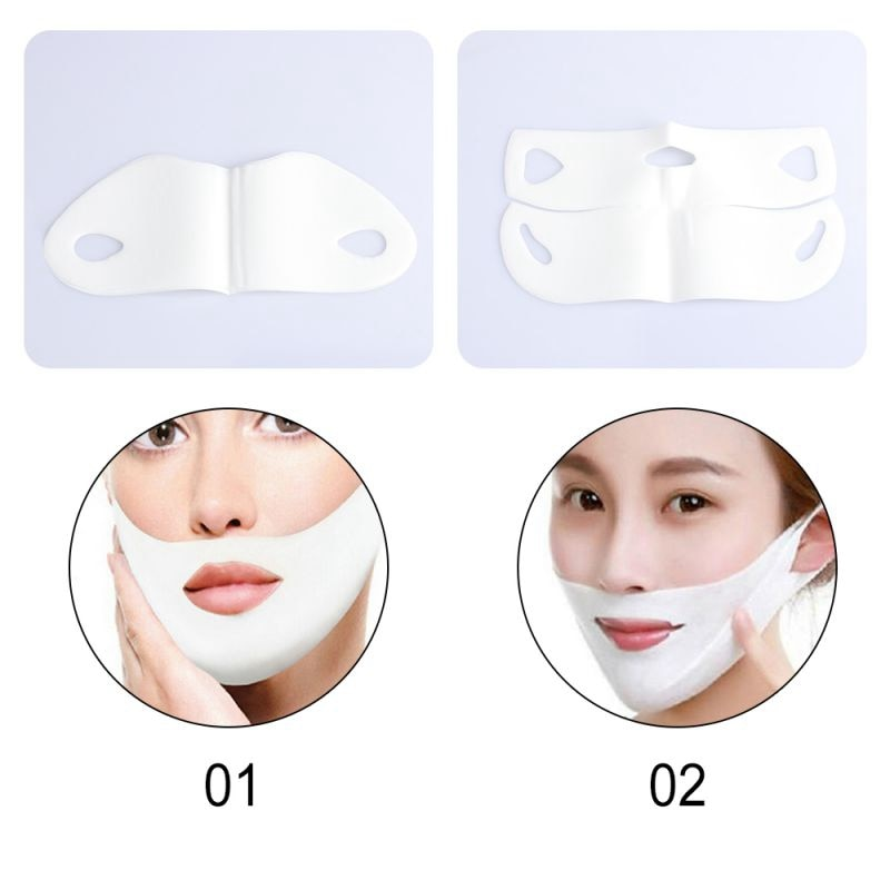 Facial Mask V Shape Slim Chin Check Face Lift Peel-off Mask
