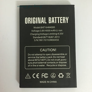 BAT16484000 4000mAh Battery For DOOGEE X5 MAX x5max