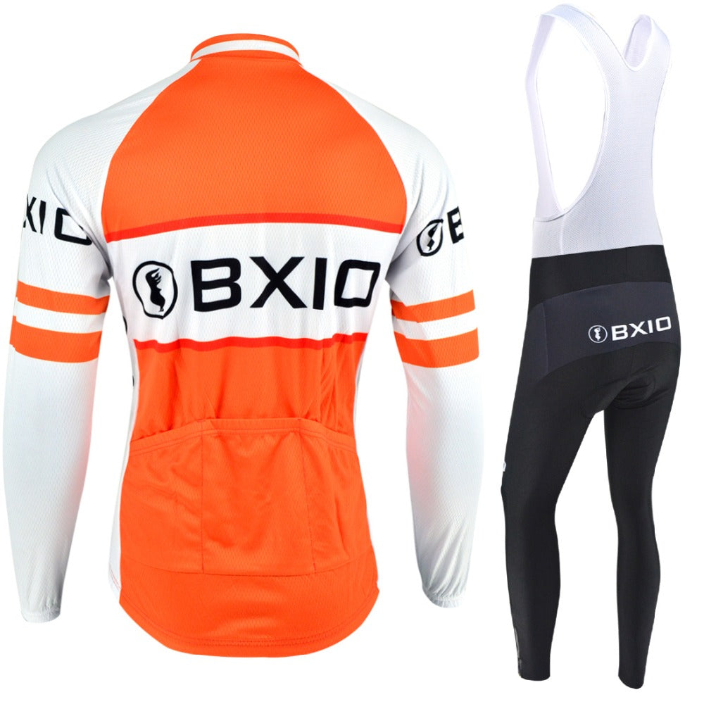 af68b0f66 chilazexpress 2017 BXIO Brand Sport Jerseys Orange Road Cycling Sets C