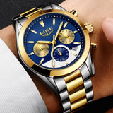 Mens Military Waterproof Top Stainless Brand Watches Stainless