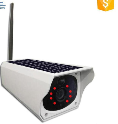 Solar Panel Wireless CCTV Security Wifi Camera for Outdoor