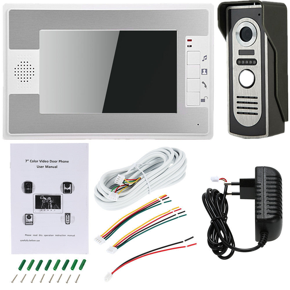 Video intercom  doorbell system with IR night vision