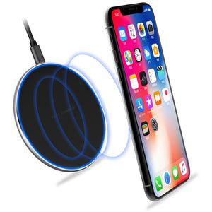 Alloy Fast Wireless Charger Case for Apple IPhone XS Max XR X Coque for I Phone IPhonex IPhonexr IPhonexs Phone Case Accessories