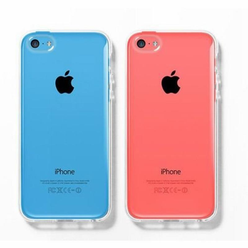 Transparent Luxury Crystal Silicone Case for Apple iPhone 5C 5s 7 ...