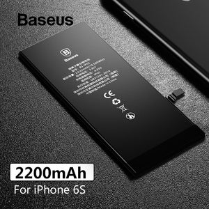 Baseus 2200mAh For iPhone 6s Battery Large Capacity Replacement Phone Batteries For iPhone 6s with Free Repairing Tools Kit