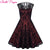 Chilazexpress Women Vintage Lace Party Dress