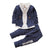 New Toddler's Gentleman Stripe Outfit Clothing Set