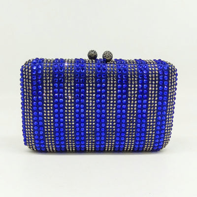 Crystal Clutch Evening Night Purse Boutique with Rhinestone