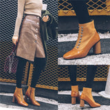 New 2018 Winter Women Ankle Boot Shoe