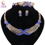 Big Wedding Jewelry Sets African Beads Jewelry set