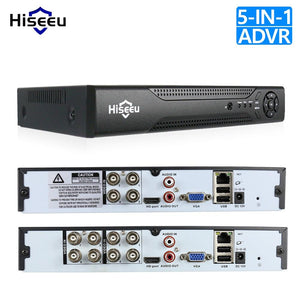 4CH 8CH 1080P 5 in 1 DVR video recorder for AHD camera