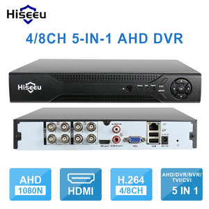 4CH 960P 8CH 1080P 5 in 1 DVR video recorder for AHD camera