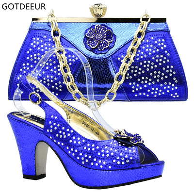 Italian Shoes with Matching Bags for Wedding Italy Nigerian Shoes and Matching  Bags New Royal Blue 89d1696ede5d