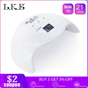 Nail Dryer UV LED Nail Lamp Gel Polish Curing Lamp for Nail Dryer
