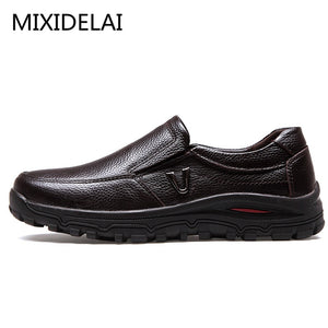 Men's Genuine Leather Shoes Business Dress Casual Shoes