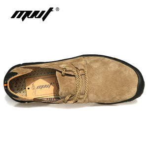 Genuine Leather Casual Shoes Men Loafers Breathable Outdoor Shoes