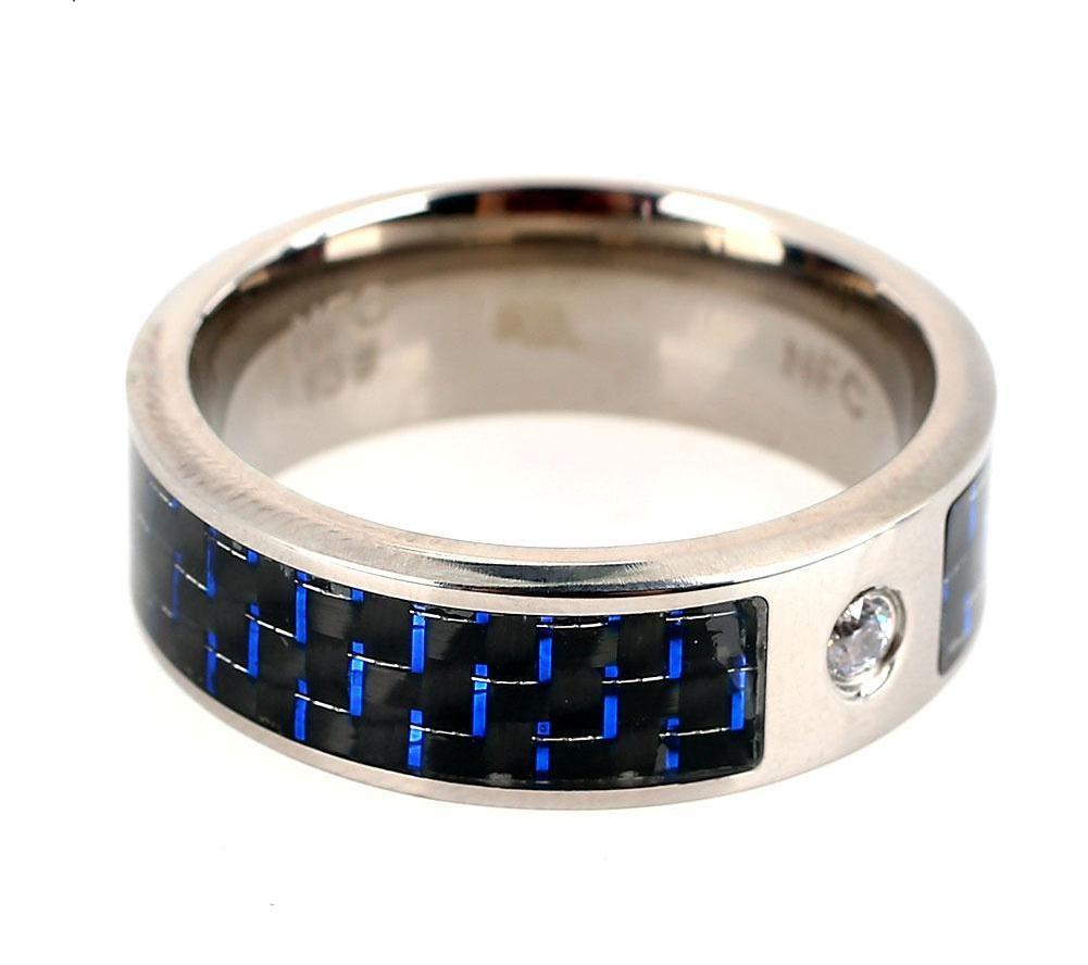 Waterproof Wearable Fashion NFC Smart Ring for Mobile Phone