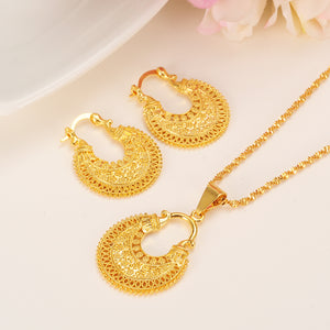 Jewelry Set Pendant Necklace & Earring Fashion wedding bridal set