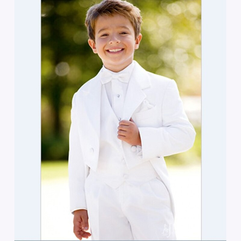 Spring//Autumn Kid/'s Wedding Groom Tuxedos Children Flower Boys Party New Suits