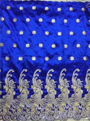 Nigerian Georges with Sequins Wedding  African Wedding Lace Fabric