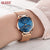 Chilazexpress OLEVS Luxury Watches Women's Rose Gold Casual Quartz Watch Stainless Steel Watch Water Resistant Clock relojes hombre 2017 saat