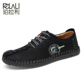 Comfortable Casual Shoes Loafers Men Shoes Quality Split Leather