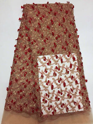 lace fabric indian george with sequins,new design for dress laces