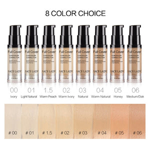Liquid Concealer Makeup 6ml Eye Dark Circles Cream Face Corrector