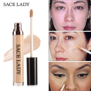 Concealer Cream Makeup Face Corrector Liquid Make Up Base Eye Dark