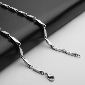 Stainless Steel Chain Men Necklace Long Chain Diy Jewlery