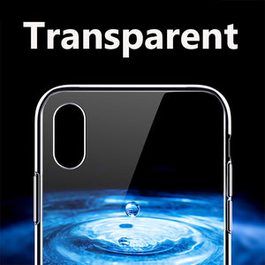 Luxury Transparent iPhone Case Cover