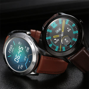 Android-IOS Touch Screen Waterproof Smartwatch with ECG PPG
