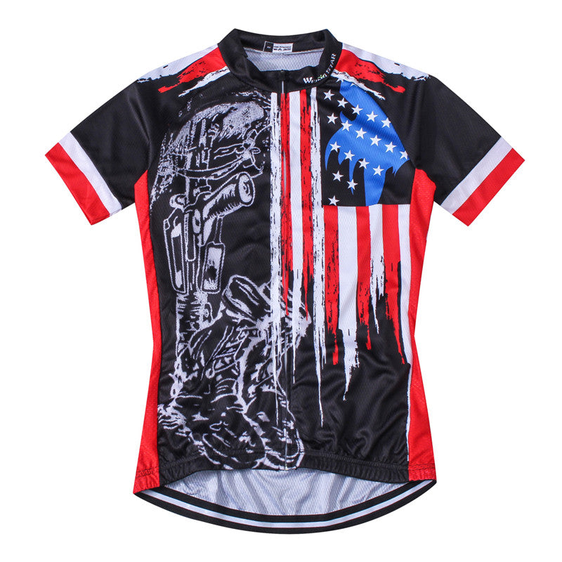 chilazexpress Weimostar 2017 Breathable Cycling Jersey Racing Sport USA Bicycle  Cycling Clothing Short mtb Bike Jersey 76d0de0a7