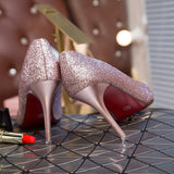Sexy Elegant Bride Wedding Shoes