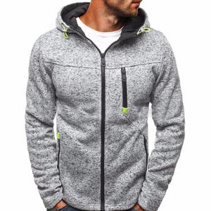 Winter Hoodie Male Long sleeve hoodies men Zipper Sweatshirt