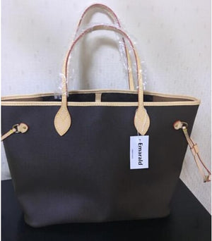 high quality shopping bag senior designer brand leather handbag