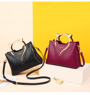 Lady Fall Winter Bag Women Cowhide