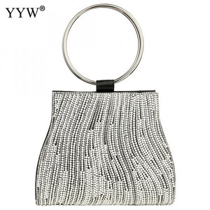 Sac A Main Femme Women Circle Ring Purse