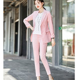 Women's Casual Floral Blazer