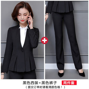 Formal Blazer Shirt with Skirt for women