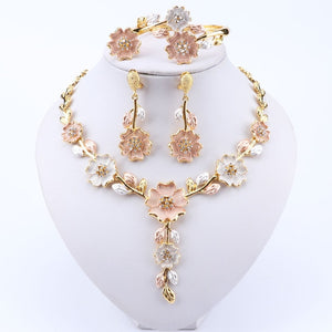 Dubai Jewelry Set for Women Wedding Dress