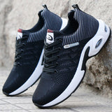 Summer Air Mesh Breathable Wedges Sneakers Young Men