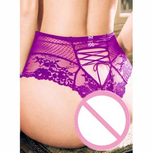 Ladies Transparent Lingerie Lingerie Briefs